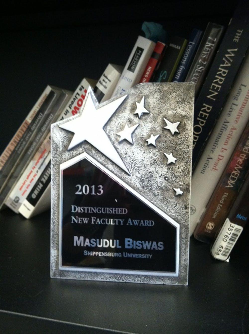 SU professor wins award for innovative teaching