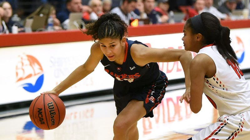 Ariel Jones averaged 28.5 points per game at SU's Conference Challenge tournament, earning tournament MVP honors.