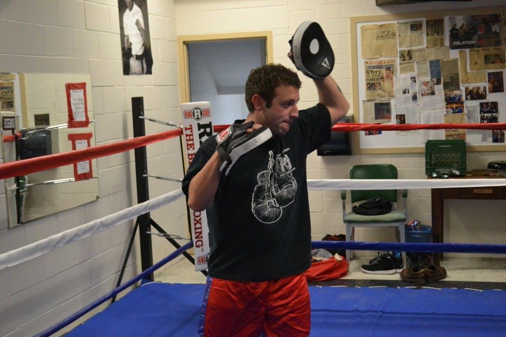 SU boxing club: Hidden underneath Henderson Gymnasium