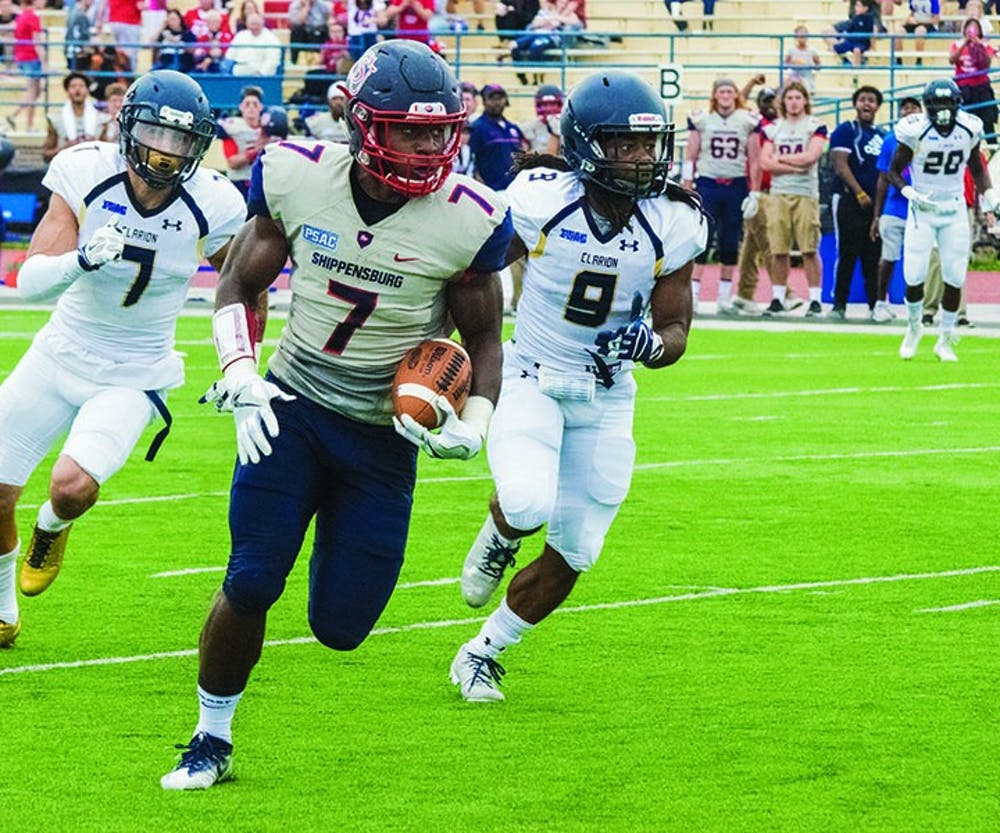 SU dominates in 41-17 rout of Clarion