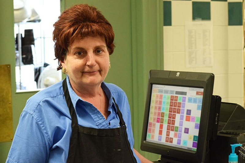 Cindy Emondi, Century Café manager