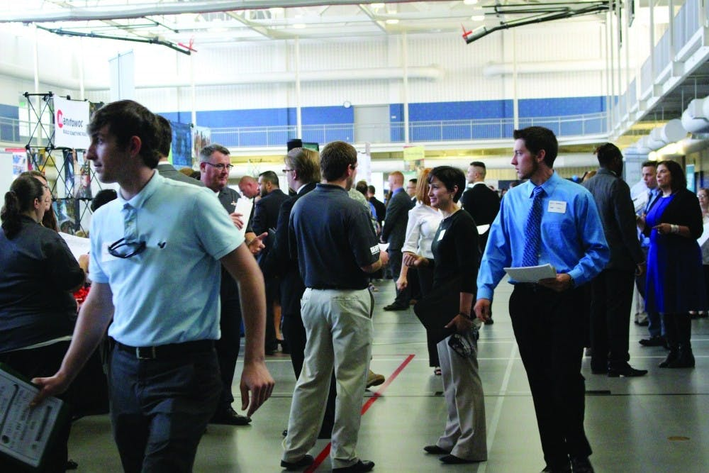 CCEC to host the year's largest career fair this week