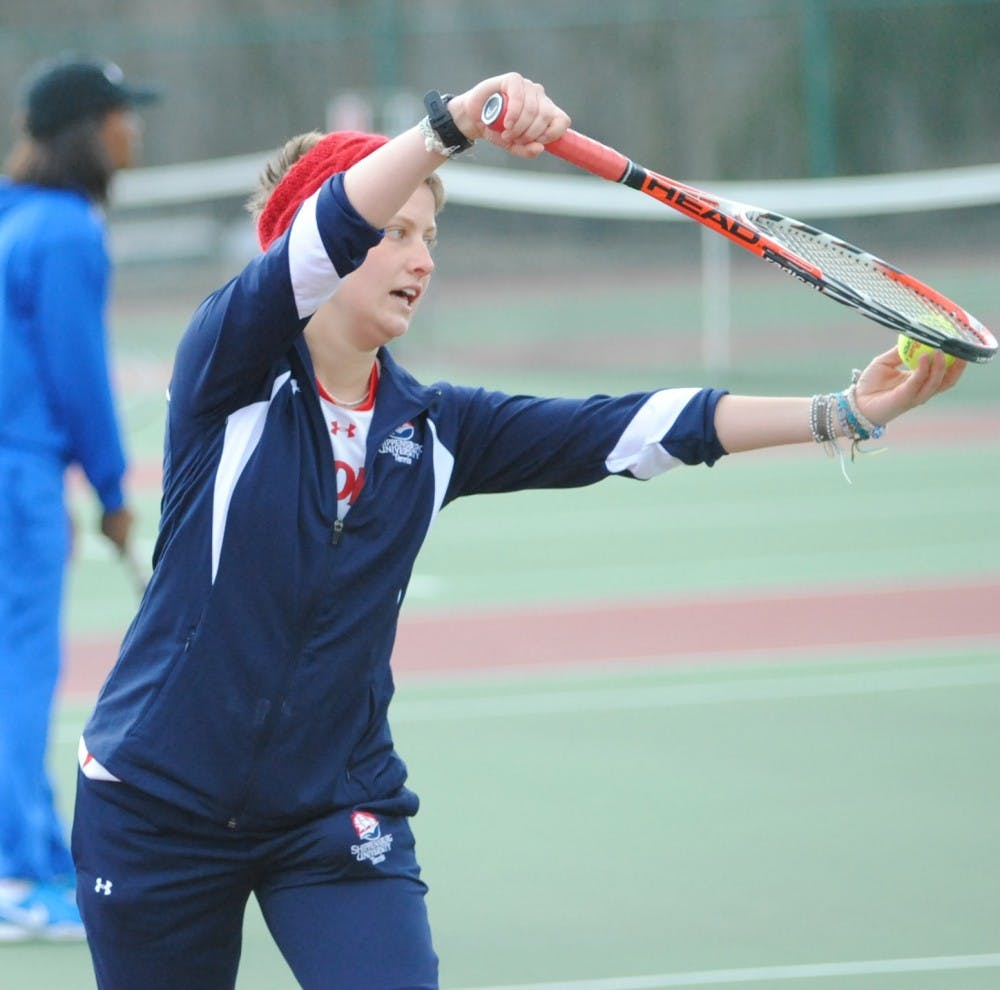 SU smashes Cheyney en route to first victory of season
