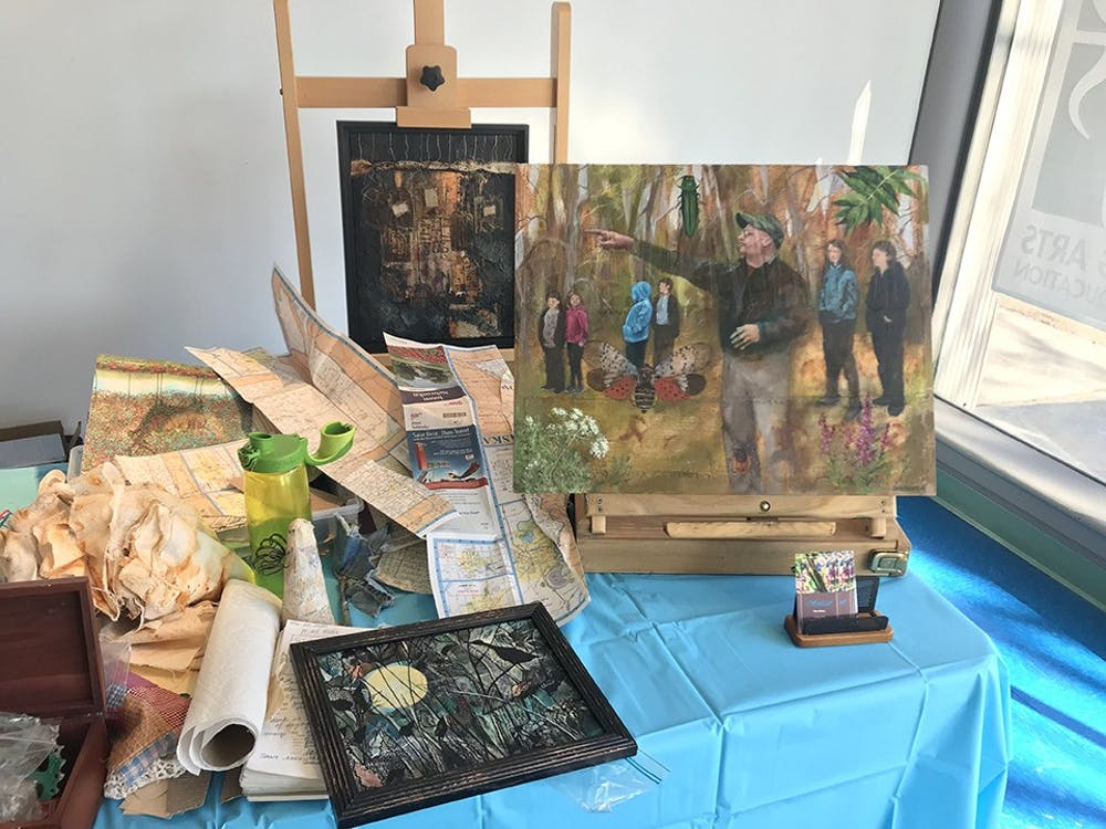 Retired teacher shows off art at SHAPE Gallery