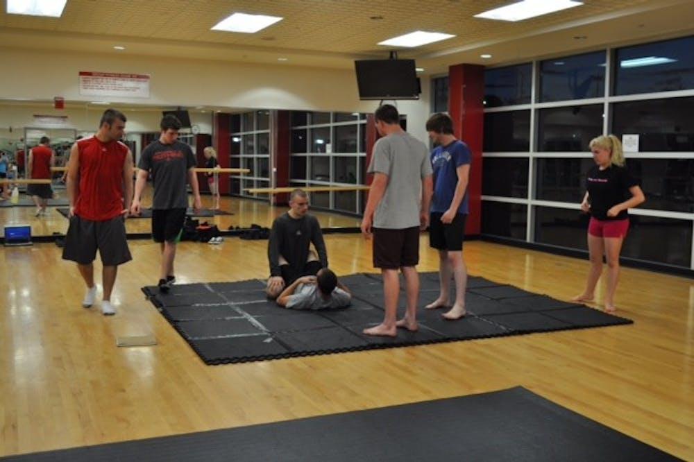 Jiu-Jitsu Club hooks students on martial arts