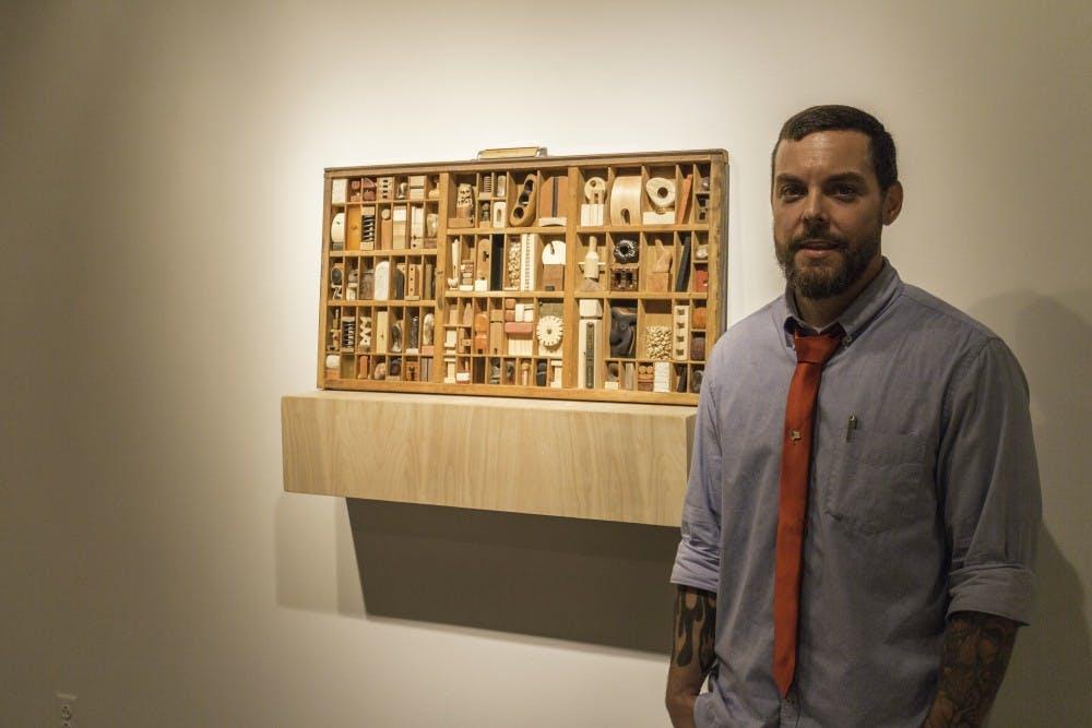 Exhibits in Huber show off work of Messiah professor, SU student