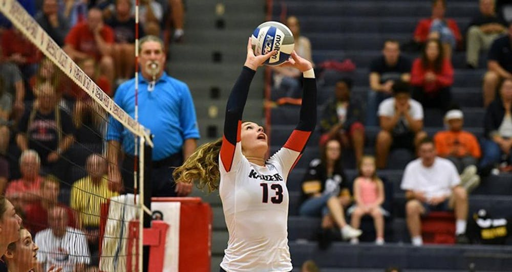 Volleyball continues streak against East Stroudsburg, Kutztown
