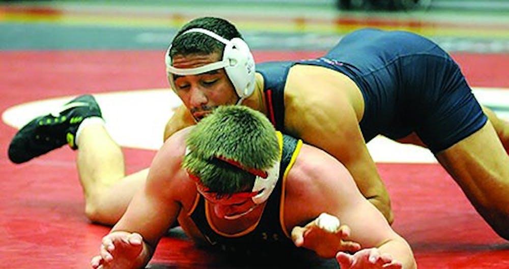 SU wrestling sees growth through season's midpoint