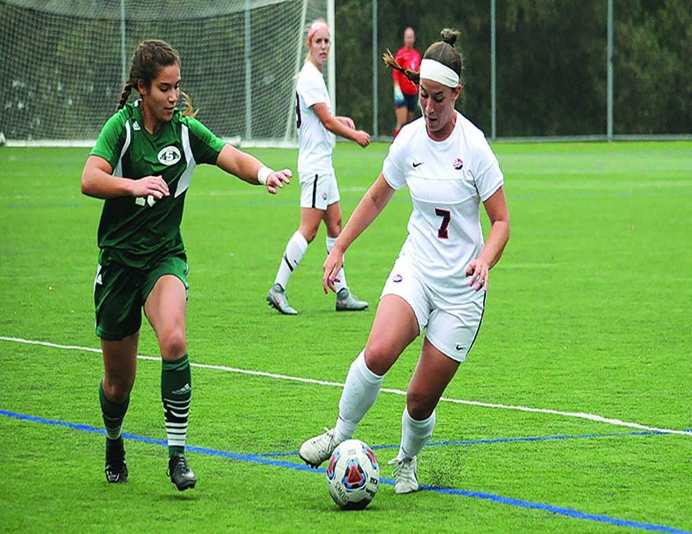 SU soccer falls to Slippery Rock, 3-0, on Senior Day