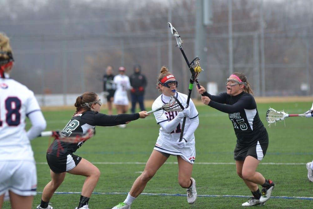Raider lacrosse wins shootout in Shippensburg