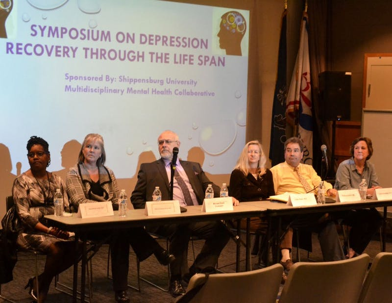 Medical experts address the topic of depression during the symposium. The workshops provided background information and some misconceptions that exist towards the disease.