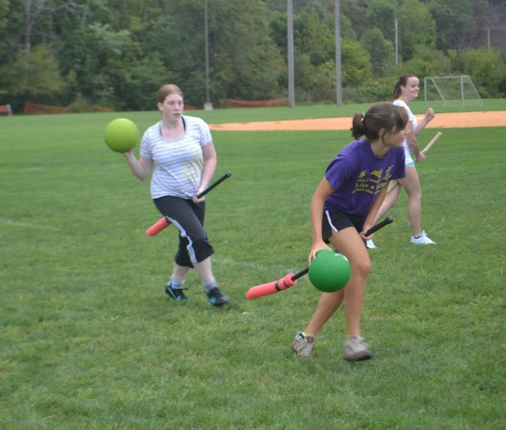 Quidditch in Shippensburg? There sure is