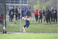 Brooks Bear competes in a hammer event earlier this season at Paul Kaiser Classic. He sported sixth place at Saturday's Last Dance invite at WCU.