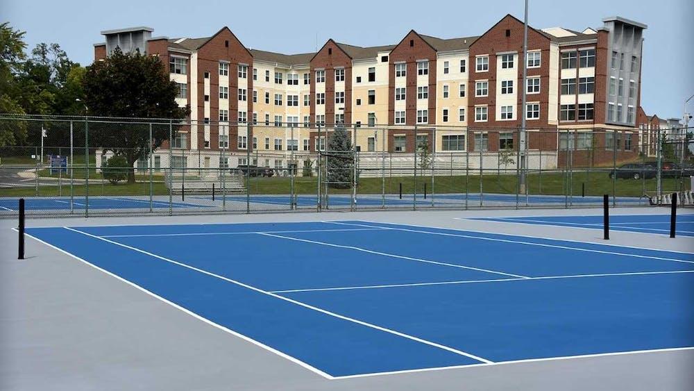 Shippensburg University renovates tennis courts