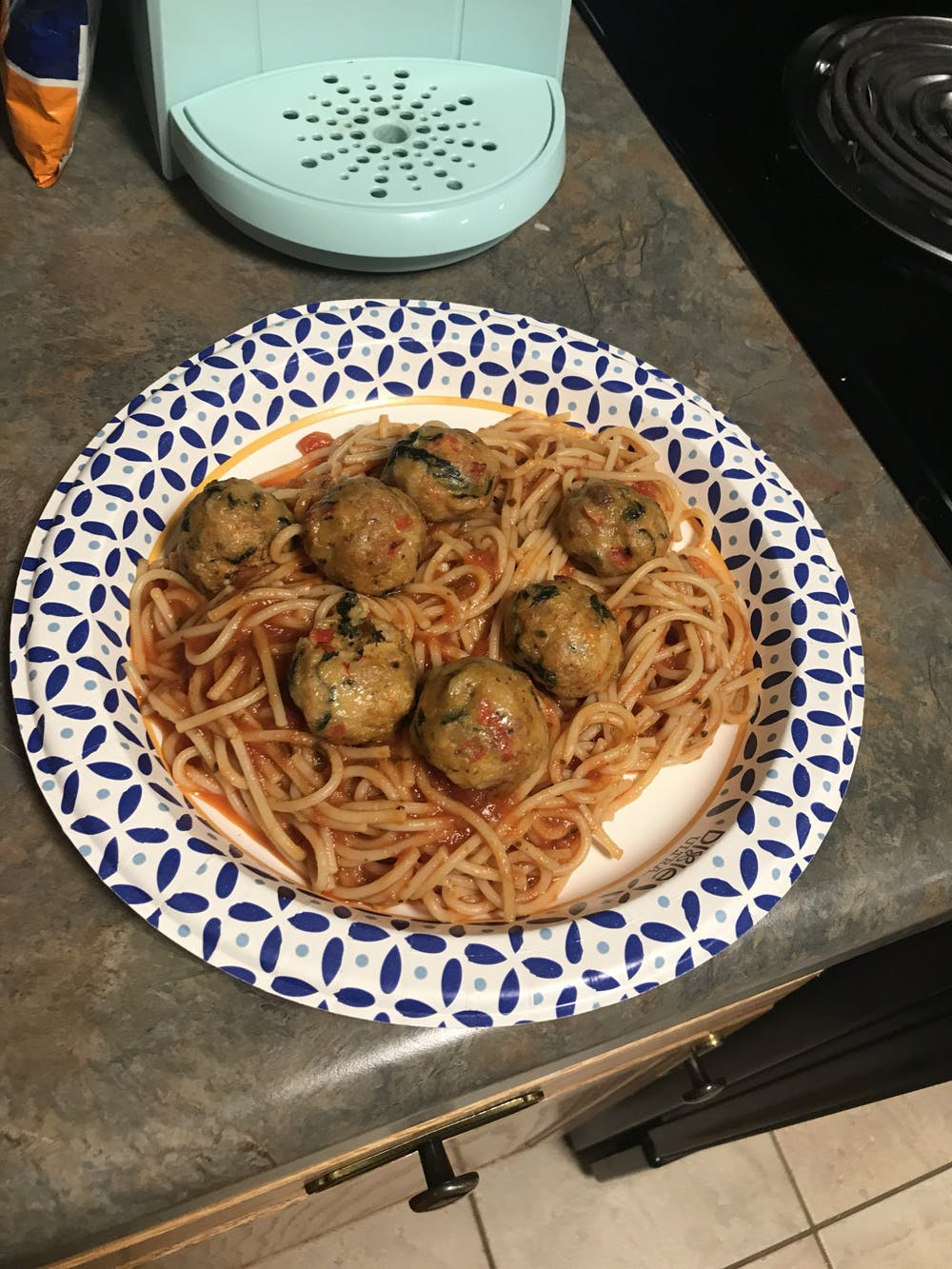 Recipe of the Week:  Chicken Spinach Meatballs