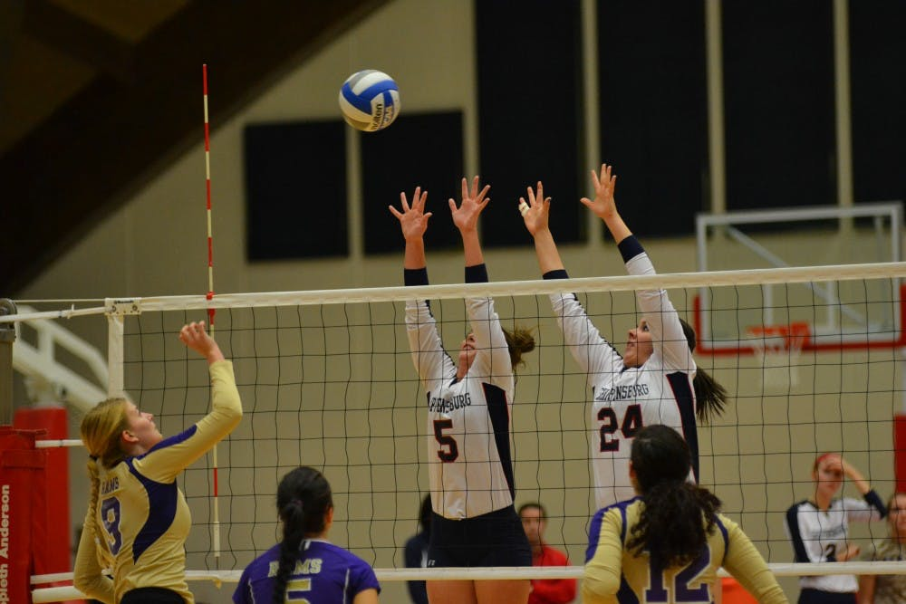 Women's Volleyball dominates Catawba Invitational
