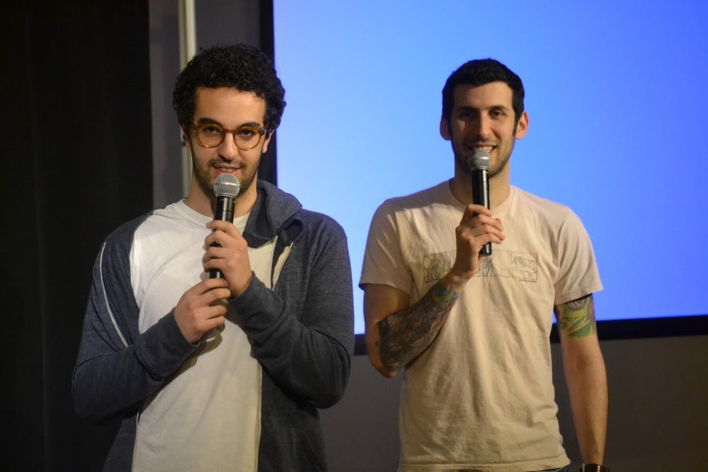 Comedic duo leaves students laughing