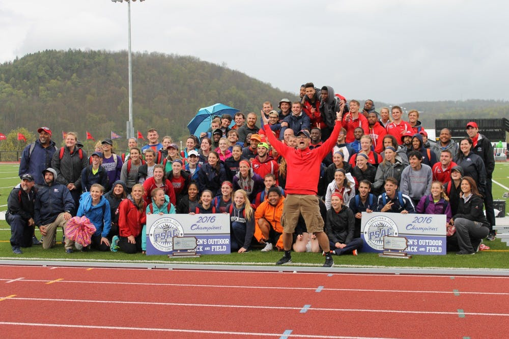 Outdoor track and field teams' PSAC reign continues
