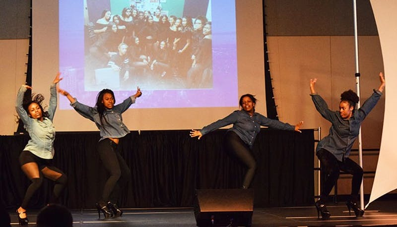ELITE Modeling Troupe performs in last year's Ship's Got Talent where the group placed second overall.