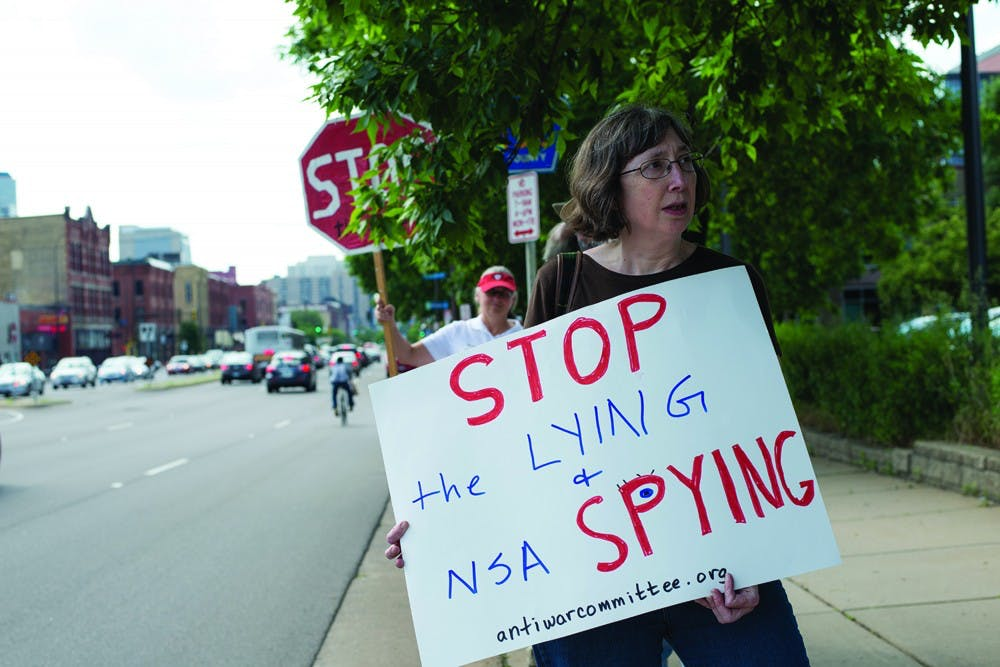 Questioning the actions of the National Security Agency