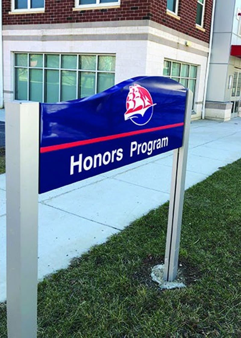 The honors program will become The Wood Honors College in the fall of 2018. Honors Program Director Kim Klein hopes the transition will bring more students to the program and university.
