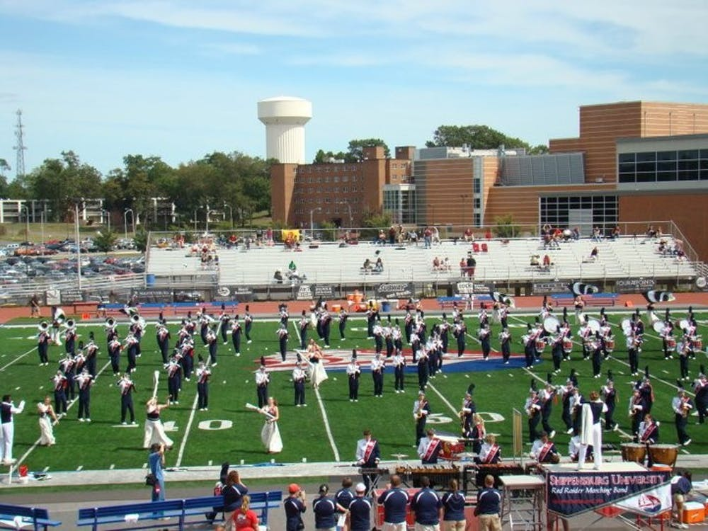 SU Red Raider Marching Band camp supports football team