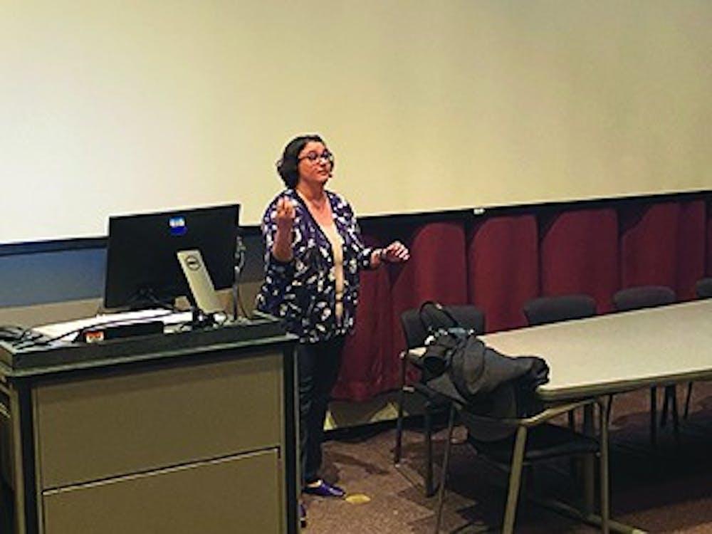 Alumna presents dissertation on bullying