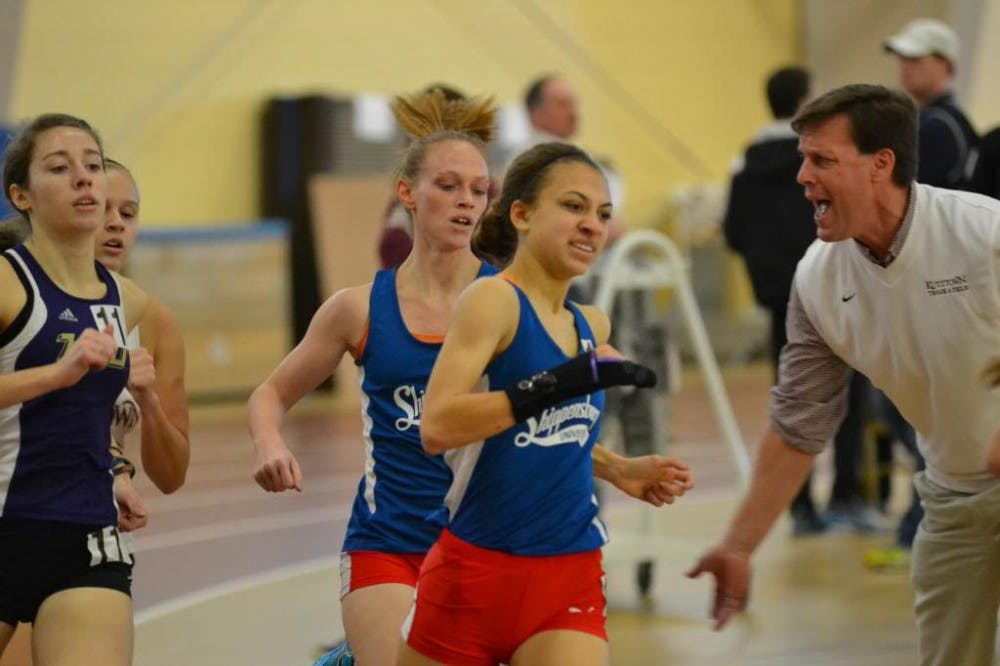 Lundy, Dissinger among women's indoor track PSAC qualifiers at Descriver Invitational