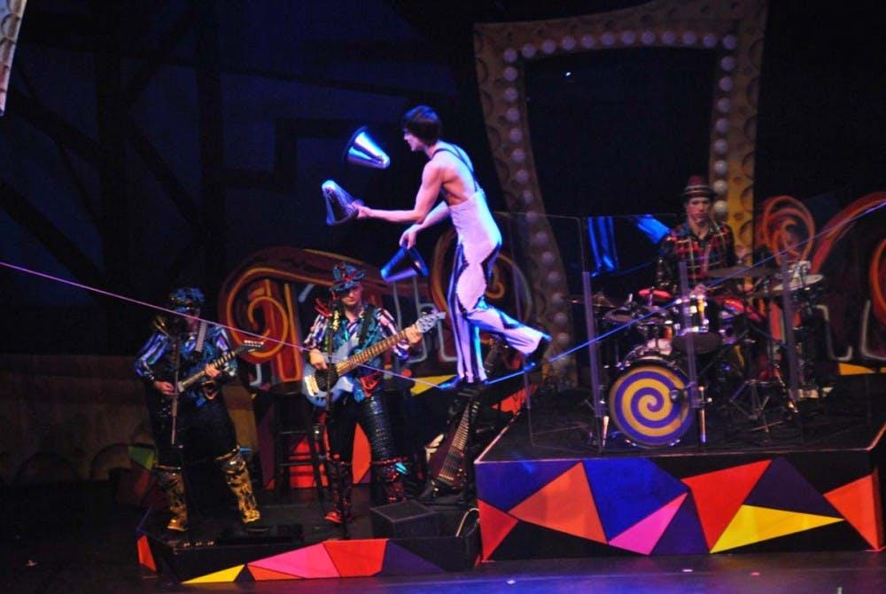 'Cirque Dreams' popped the rock at SU