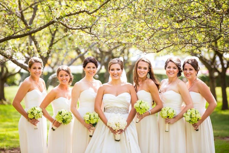Lisa Rhinehart Wedding Girls