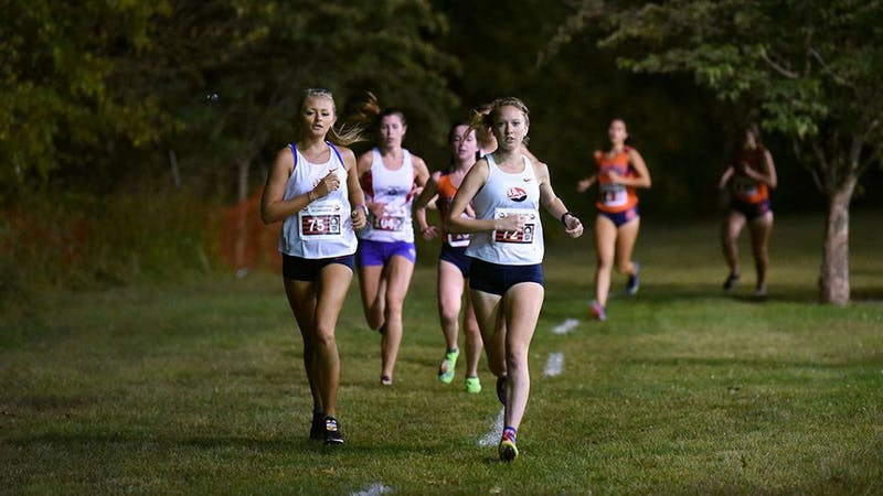 The women's cross country team finished 18th out of the 37 teams in the meet with 448 points.