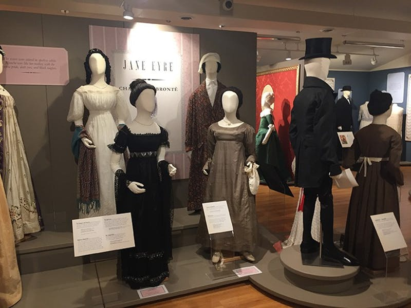 The newest display at the Fashion Archives and Museum of Shippensburg University features clothing from the 18th through 20th century, which portray the role of clothing and character in classic literature.