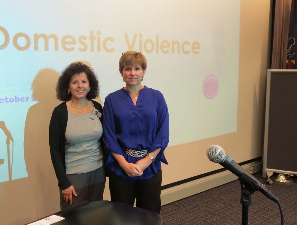 Visiting authors stress importance of domestic violence awareness