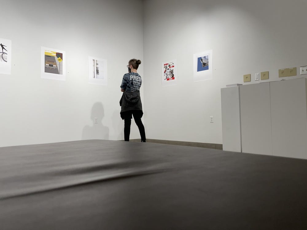 Kauffman Gallery hosts new student gallery: Bitmap and Vector