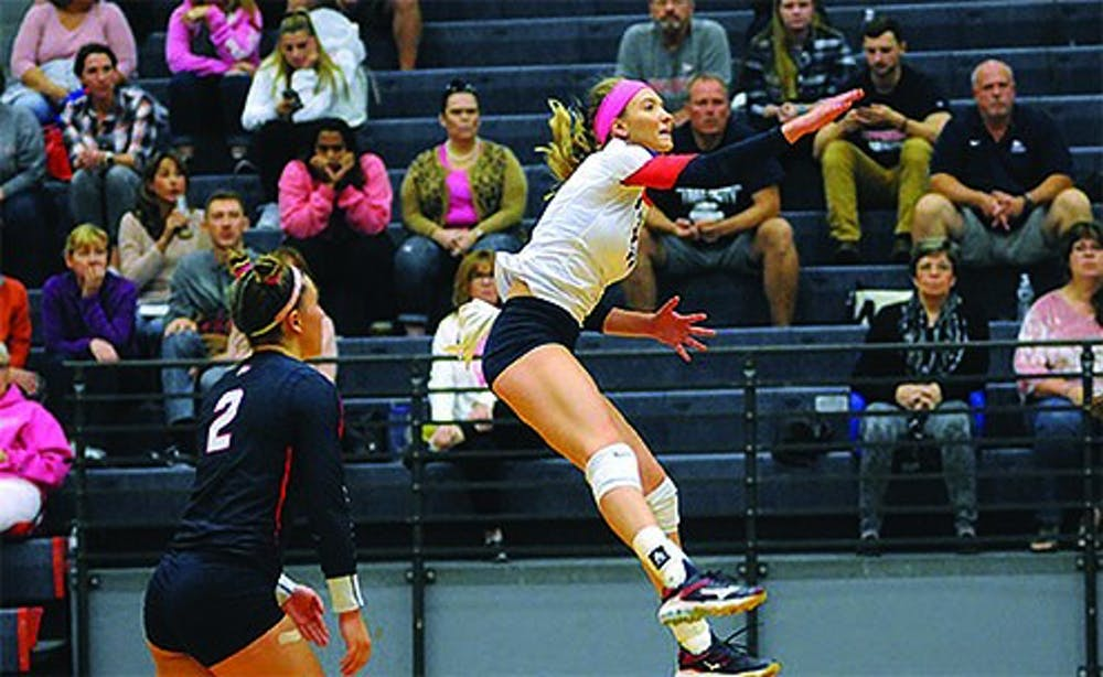 Volleyball drops weekend matches to conference foes