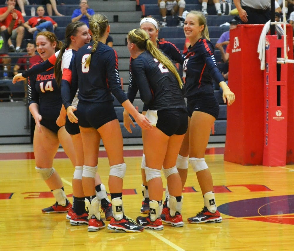 Volleyball ends season at Regional Championships