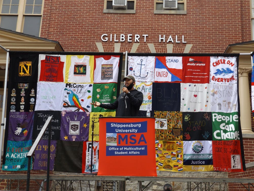 ACT reveals quilt to cover  SU campus from discrimination and ignorance