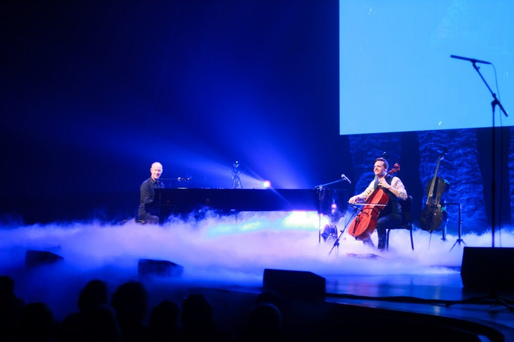 The Piano Guys perform at SU
