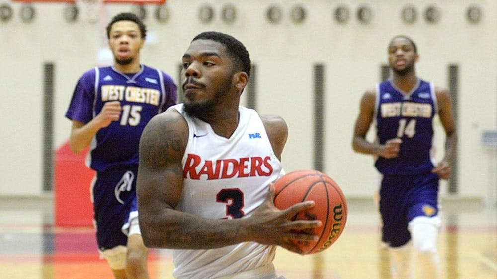 No. 8 Raiders cruise by rival West Chester, 85–43