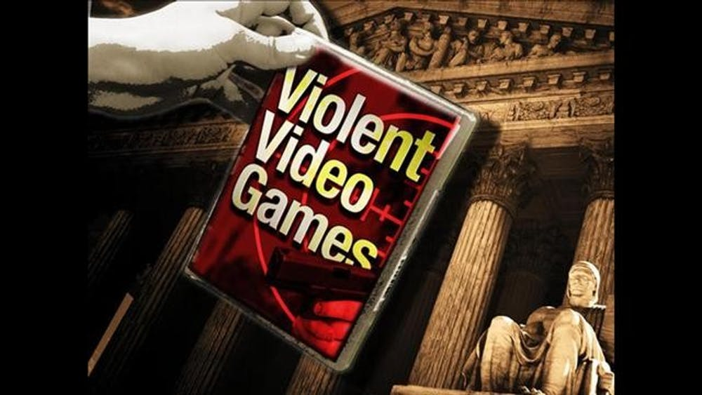 Are video games a source of gun violence?