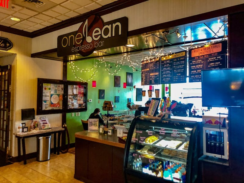 Customers can purchase a variety of beverages ranging from coffee and espressos to tea and smoothies.