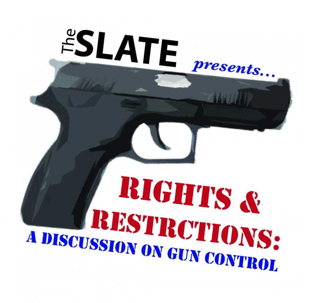 Rights and restrictions: a discussion on gun control