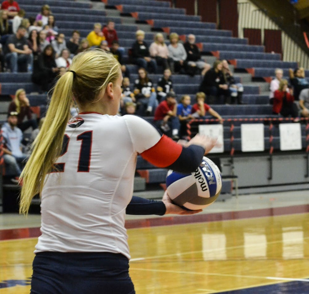 Volleyball sweeps weekend competition