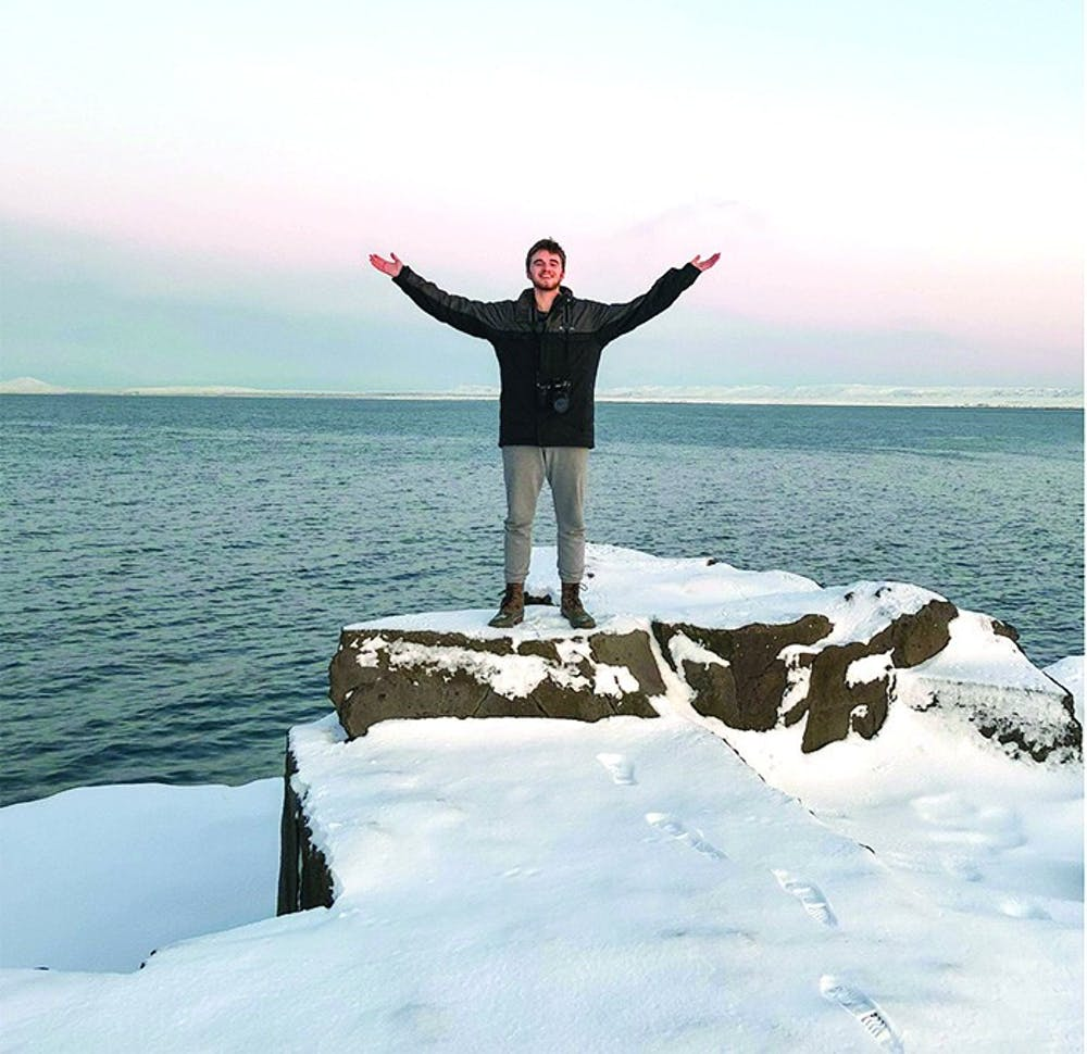 SU student gains experience in Europe