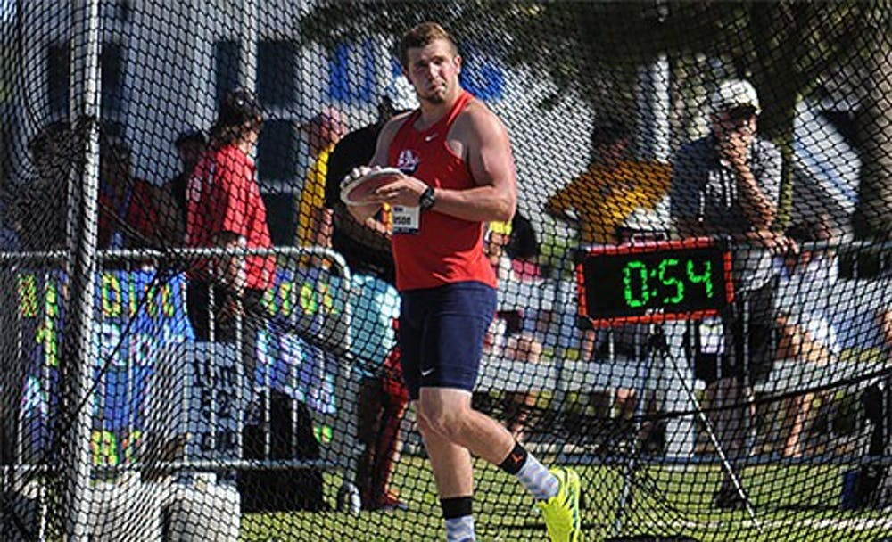 Pearson breaks school record to lead men's track-and-field team at Bison Outdoor Classic