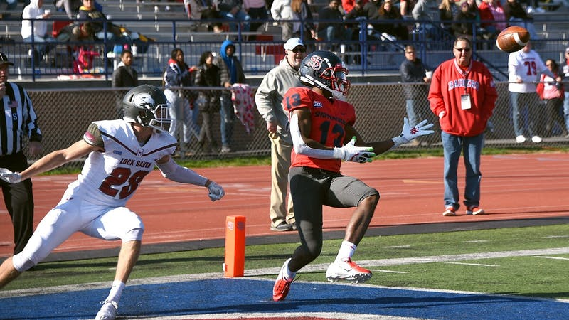 Eubanks led the Shippensburg offense in receiving yards (896) and receiving touchdowns (8) in the 2019 season. He also reeled in a career high 60 receptions.