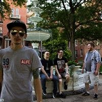 (Left to right) Lane Alleman, bass; Spencer Godlewski, guitar; Brandon Morgan, drums; and Tristan Sieben, vocals, are members of Nothing Planned. The band is planning a concert in Shippensburg to take place before spring break.