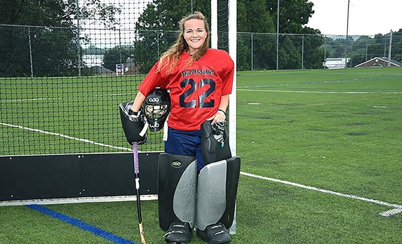 Ally Mooney was honored to receive the Strous Memorial Field Hockey Scholarship this season. Mooney, as well as the rest of the team, are hoping to capture another national championship in her final year at SU.