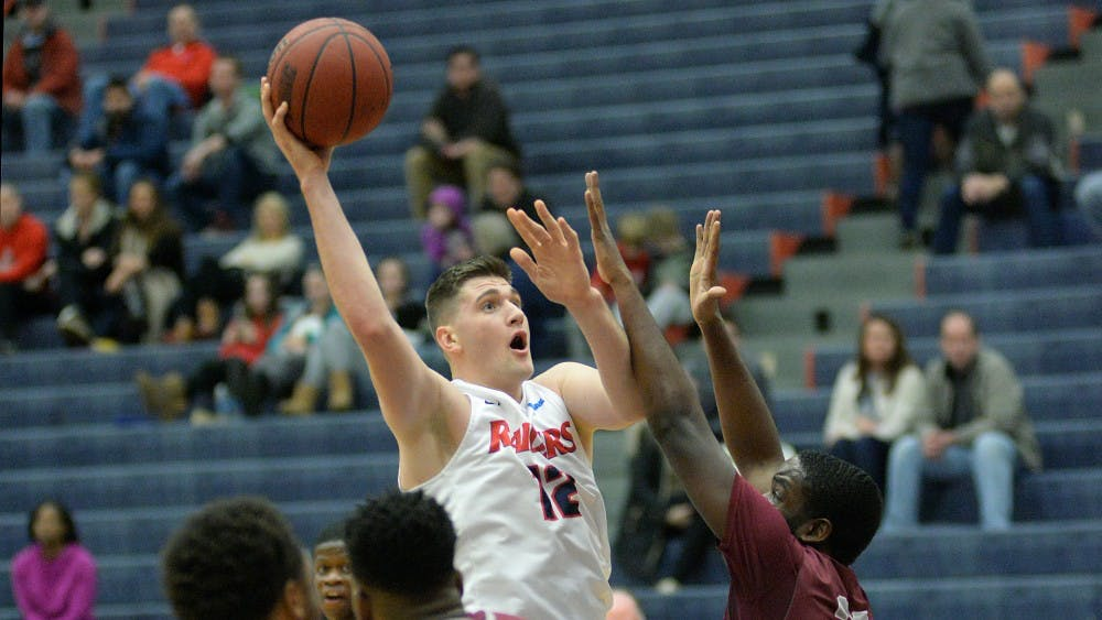 Sleva sets career-high in 92-75 win over Lock Haven