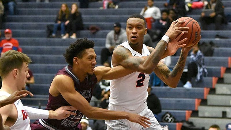 Lamar Talley averaged 12.5 points and seven rebounds in the Raiders' Conference Challenge games. His performance earned himself a spot on the weekend's All-Tournament team.